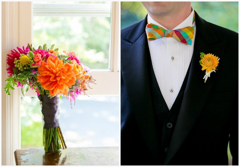 Bridal Bouquet ~ Vibrant Fall Wedding