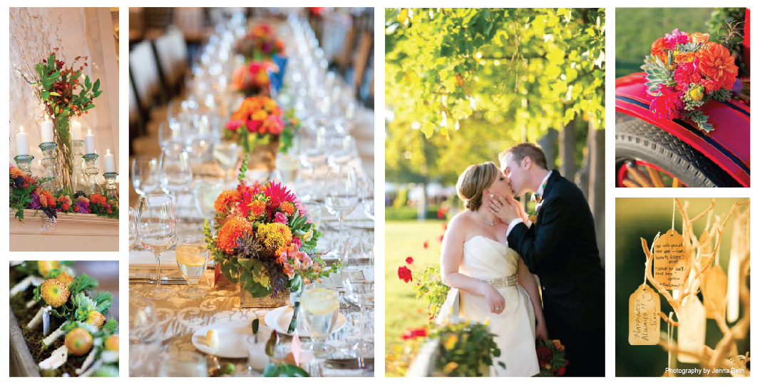 Peridot Events - Vibrant Fall Wedding